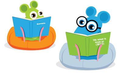 Earn to learn reading website